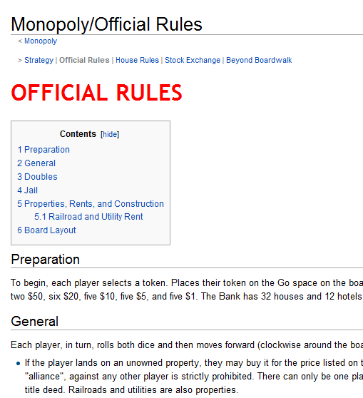 monopoly 2 players rules