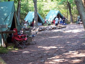 boy scout camp