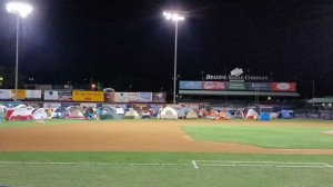scout night at the reading philles
